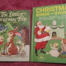 The Littlest Christmas Tree &  Christmas songs and stories Vintage Childrens Books