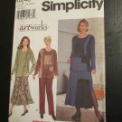 Simplicity Pattern # 8246 UNCUT Misses Top Skirt Pants Size 12,14,16