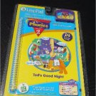 LeapFrog LeapPad Phonics Lesson 2 Tad's Good Night Short Vowels New In Package