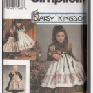"Simplicity 9723 Daisy Kingdom  Childs Dress and Dress for 18"" Doll Sewing Pattern Daisy Kingdom"