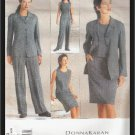 Vogue Donna  Karan 2333 Jacket Top Skirt Pants Suit Sewing Pattern Uncut