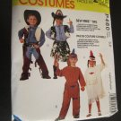 McCall's Childrens Costumes Cowboys & Indian Size 5,6 Uncut Sewing Pattern Halloween