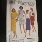 Simplicity Sewing Pattern 9197 Misses dress in two Lengths