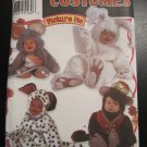 Toddlers Picture Me Mouse Bunny Monkey Dog Costume Pattern  Simplicity 9821