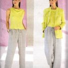 BUTTERICK 6544 UNCUT Linda Allard Ellen Tracey Misses Jacket, Top and Pants Sewing Pattern