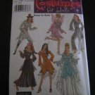 Costumes Fairy Princess Indian Pirate Lady Gypsy Costume Simplicity 5363 Pattern