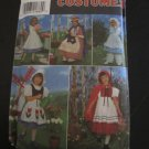 Simplicity Pattern # 8234 UNCUT Girls Costume Alice Red Riding Hood Betsy Ross Size 5,6,7,8