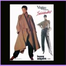 Vogue Sewing Pattern 1476 Misses Size 8 Issey Miyake Individualist Coat Shirt Pants Uncut
