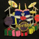 TAMPA CASINO 2008 HAPPY BIRTHDAY DRUMKIT Party Balloons DRUMS Hard Rock Cafe PIN