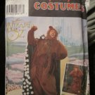 Simplicity 7833 Adult Costume The Wizard Of Oz -Cowardly Lion S,M,L