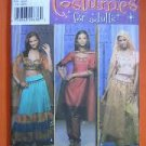 Simplicity Pattern # 4249 UNCUT Middle Eastern Ethnic Ballywood Costume BoHo skirt Size 14 16 18 20