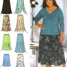 OOP! KHALIAH WOMENS DESIGN YOUR OWN SKIRT SEWING PATTERN 18W-24W Simplicity 4706