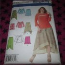 Simplicity 1812 Womans Skirts and Knit Tops 20W-28W Uncut