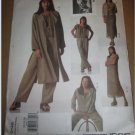 Sewing Pattern 2148 Adri Womens Jacket, Duster, Dress, Top, Slip & Pants Size 12 14 16  UnCut