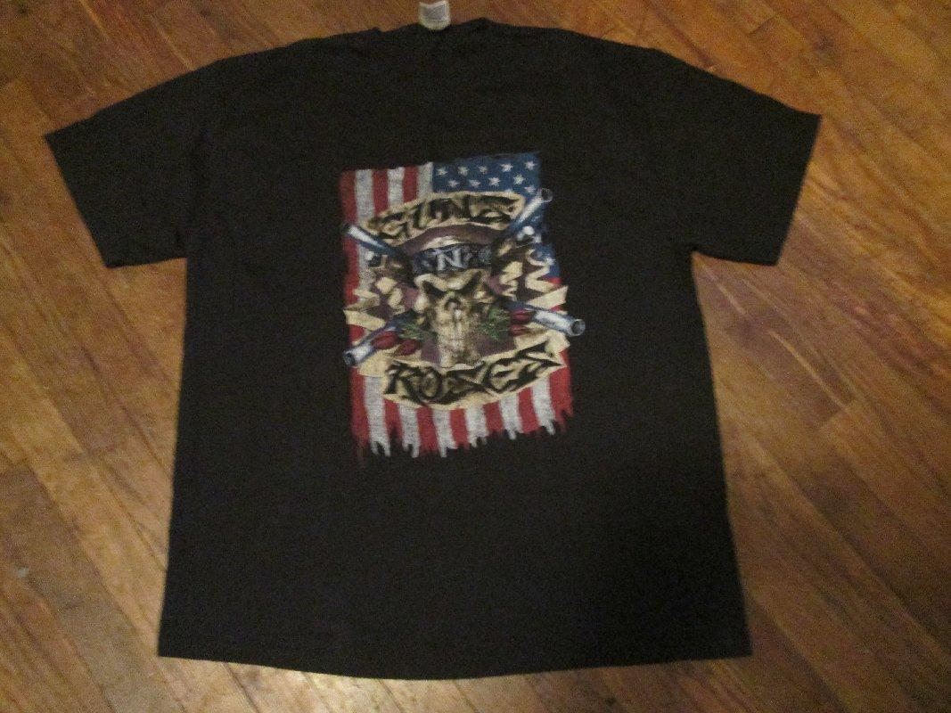 Guns N Roses (GNR) Heavy Metal,Rock Shirt Flag/Skull Adult Size XL