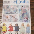"Simplicity 18"" Doll Clothes,Tote,Garment and Sleeping Bag  Sewing Pattern  American Girl"