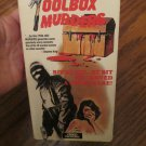 The ToolBox Murders RARE VHS Video Rated R  1987