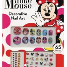 Disney Minnie Mouse  65 Piece Decorative Nail Art & Scented Temporary tattoos