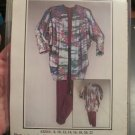 Pleats a Plenty Versatile Jacket Top pants Sewing Pattern
