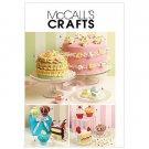 Sew & Make McCall's M5868 SEWING PATTERN - Faux CUPCAKE CAKE SACHETS PINCUSHIONS