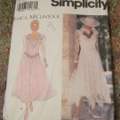 Jessica McClintock, Simplicity 8902 Pattern Misses Dress, Formal Wear Size 18,20,22