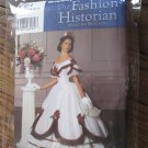 Simplicity 5724 Sewing Pattern Civil WAR Dress FORMALVictorian Ball Gown 6-12