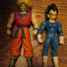 2 Dragonball Z Action Figures. TV Cartoon,Toys FREE SHIPPING