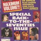 CIRCUS Magazine Maximum Volume!! Collector's Edit July 31,1994 Back to Seventies