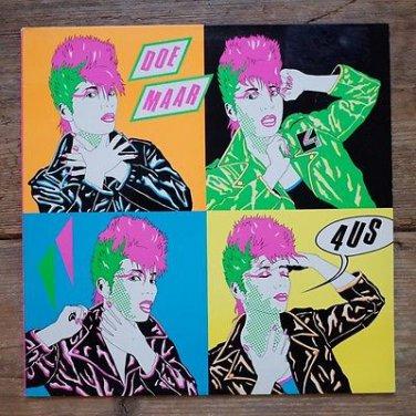 Doe Maar - 4US, Virus Vinyl LP
