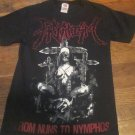 Priapism Progressive Death Core Metal/Hardcore Concert Band Tour Shirt Size Small