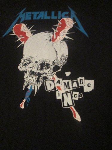 METALLICA Damage Inc T-Shirt Size Large (HEAVY METAL)