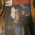 Simplicity Sewing Pattern - 9753 Men's Medieval Renaissance Costumes Wizard, King Sizes XS,S,M Uncut