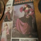 Simplicity Sewing Pattern 9966 Renaissance Wench Medieval Costume Size 7,8,10,12,14  Uncut