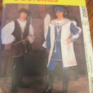 Men's Renaissance Costume Pattern Uncut McCalls 2808 Size  L,XL  Leggings Tunic Shirt Surcoat