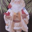 Hallmark Keepsake Ornament Merry Olde Santa w/Cardinals (Birds)FREE SHIPPING
