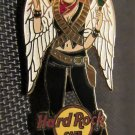Hard Rock Cafe Pin Angel GIRL White Wings Maracas Sombrero hat MEXICO