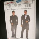 7842 Mens Sports Jacket Frock Coat Pattern 36 - 46 UNCUT *FREE SHIPPING