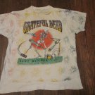 Grateful Dead Vintage RARE 1992 Skeleton Croquet mallet Summer Concert Tour Shirt XL