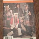 Simplicity 1795 Misses, Men's,Teens Animal Hats, Leg & Arm Warmers Pattern UNCUT FREE SHIPPING