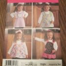 SIMPLICITY 2699 CHILD'S APRONS SZ 1/2-1-2-3-4 FREE SHIPPING