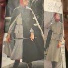 1970s VOGUE 1160 Vogue Americana Anne Klein Cape, Suit, blouse Paper Pattern Size 16 Bust 38