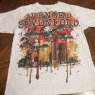 Avenged Sevenfold Bloody Skulls W/ Wings Logo Band T-Shirt FREE SHIPPING