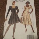 8199 Very Easy Vogue Sewing Pattern Fitted Flared Dress FREE SHIPPING