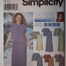 Sewing Pattern 5975 Women's Pullover Dress or Jumper in two lengths and Jacket 18W-24W