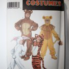 Simplicity sewing Pattern 9808 Boys and Girls Adorable Animal Costumes Sizes 2-4,6-8,10-12