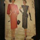 Mc Call 6693 Vintage Sewing pattern 1940's Film Noir Style Day & Evening Dress Size 14 Bust 32