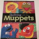 Quilting with the Muppets Sesame Street Jim Henson 15 Patterns The Count,Miss Piggy FREE SHIPPING