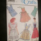 Simplicity 9807 Simplicity 9807 Sewing Pattern Misses Set of Aprons Bib Cobbler Smock