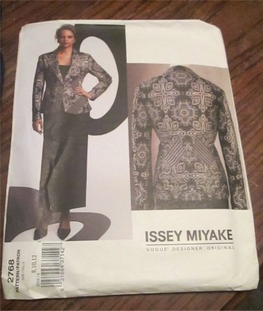 Issey Miyake 2768 Sewing Pattern Vogue Designer Original UNCUT Hard To Find