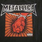 Metallica- St Anger Parental Advisory Band Shirt  Mens Size Large
